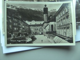 Oostenrijk Österreich Tirol Innsbruck Burggraben Und Hofkirche - Innsbruck