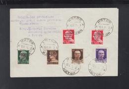 Brief Mil. Verwaltung Kotor 1944 - Occupation 1938-45