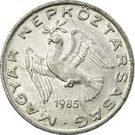 Monnaie, Hongrie, 10 Filler, 1985, Budapest, TTB, Aluminium, KM:572 - Hongrie