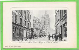 59 AVESNES SUR HELPE. Rue Victor Hugo Et Place D'armes - Animée - Avesnes Sur Helpe