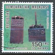 TIMBRE - MADAGASCAR - Oblitere - Madagascar (1960-...)