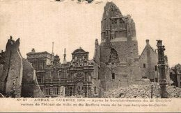 ARRAS GUERRE DE  1914 - Arras