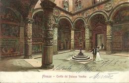 Firenze (Toscana) Palazzo Vecchio, Scorcio Del Cortile, La Cour, The Courtyard, Der Hof - Firenze