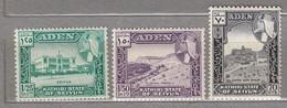ADEN 1964 MNH(**) Mi 39-41 #24027 - Aden (1854-1963)