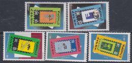 Ethiopie N° 1048 / 52 XX  100ème Ann. De La Découverte Du Bacille De Koch  Les 5 Valeurs Sans Charnière, TB - Ethiopie