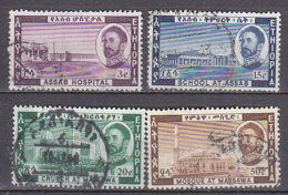 A0963 - ETHIOPIE Yv N°393/96 (-397)  ARCHITECTURE - Ethiopie