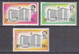 A1133 - ETHIOPIE Yv N°461/63 **  ARCHITECTURE - Ethiopie