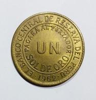 PERU 1 SOL DE ORO ( 1962 ) - Perú