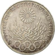 Monnaie, République Fédérale Allemande, 10 Mark, 1972, Munich, TTB, Argent - [ 7] 1949-…: BRD