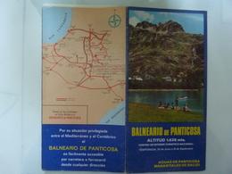 "Pieghevole ""BALNEARIO DE PANTICOSA Centro De Interes Turistico Nacional"" 1976 - Dépliants Touristiques"