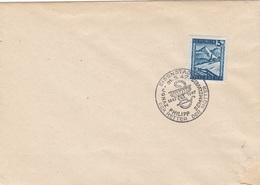ÖSTERREICH 1947 - 3 Gro Auf Brief Mit Sonderstempel EISENSTADT - SEMMELWEIS - DER RETTER DER MÜTTER, Kuvert Recht ... - 1945-.... 2ème République