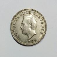 EL SALVADOR 5 CENTAVOS 1959 - El Salvador