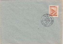 ÖSTERREICH 1947 - 4 Gro Auf Brief Mit Sonderstempel EISENSTADT - SEMMELWEIS - DER RETTER DER MÜTTER - 1945-.... 2ème République