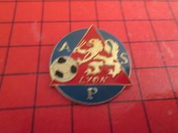 0117 Pins Pin's / Rare & Belle Qualité THEME SPORTS / FOOTBALL CLUB LYON ASP - Football