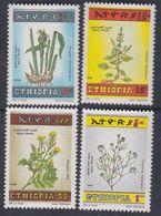 Ethiopie N° 1149 / 52 XX  Flore : Herbes à épices,  Les 4 Valeurs Sans Charnière, TB - Ethiopie
