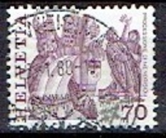 SWITZERLAND # FROM 1977 STAMPWORLD 1100 - Oblitérés