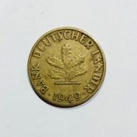 DEUTSCHLAND / GERMANY - 5 PFENNIG ( 1949 - J ) BANK DEUTSCHER LANDER - [ 7] 1949-… : RFA - Rep. Fed. Tedesca