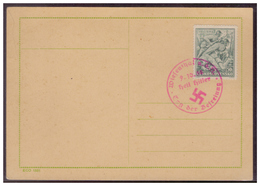 Sudetenland (007709) Stempelbeleg Wiesenthal, Tag Der Befreiung Heil Hitler Am 9.10.1938 - Sudètes
