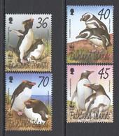 L616 FALKLAND ISLANDS WWF FAUNA BIRDS PENGUINS 1SET MNH - W.W.F.