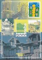 ITALIA REP. - 2000 - CARTOLINA POSTALE  NABA 2000 ST. GALLEN. - 1946-.. République