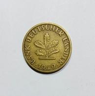 DEUTSCHLAND / GERMANY - 5 PFENNIG ( 1949 - F ) BANK DEUTSCHER LANDER - [ 7] 1949-… : RFA - Rep. Fed. Tedesca