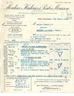 Facture & Traite  Militaria 1942 / 54 PONT A MOUSSON Moulins & Huileries/ Autorisation Préfectorale /88 Gerard MARTIGNY - Documents