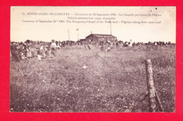 F-62-Notre Dame De Lorette-01Ph76 Cérémonie Du 12 Septembre 1920, Chapelle Provisoire, Pélerins Prenant Leur Repas, Cpa - Autres Communes