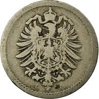 Monnaie, GERMANY - EMPIRE, Wilhelm I, 5 Pfennig, 1875, Hambourg, TB - [ 2] 1871-1918: Deutsches Kaiserreich