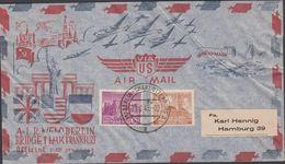 1949. Berlin. 4 Pf + 6 Pf. BERLIN REIVCHSTAGSGEBÄUDE. BERLIN-CHARLOTTENBURG 23.6.49. ... (MICHEL 43+45) - JF310642 - [5] Berlin