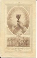 SOUVENIR DE PRETRISE A L'OCCASION DU JUBILE SACERDOTAL DE VOTRE CURE LE 29 JUIN 1947 VICTOR NICAULT MONTBAZON - Godsdienst & Esoterisme