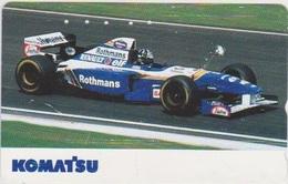 CARS - JAPAN - FORMULA-1-054 - RENAULT - ROTHMANS - Voitures