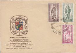 1956. Berlin. 25 JAHRE BISTUM BERLIN. BERLIN-CHARLOTTENBURG 25 JAHRE BISTUM BERLIN 26... (MICHEL 132-134) - JF310655 - [5] Berlin