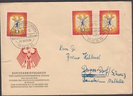 1955. Berlin. 10 + 20 Pf. DEUTSCHER BUNDESTAG IN BERLINBERLIN-CHARLOTTENBURG BUNDESTA... (MICHEL 129-130) - JF310667 - [5] Berlin