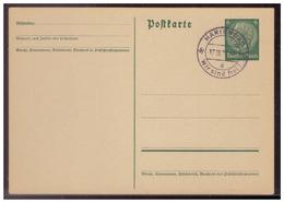 Sudetenland (007711) Ganzsache Stempelbeleg Marienbad, Wir Sind Frei 17.10.1938 - Sudetenland
