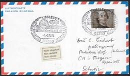 "GERMANY - ANNULLO SPECIALE ""KISSLEGG  65° WELTRUNDFAHRT LZ127- JUBILAUMSFAHRT PESTALOZZI"" 04.09.1994 SU CARTOLINA - Briefe U. Dokumente"