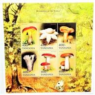 Tanzania 1999**Mi.3791-96 Mushrooms , MNH [4;45] - Pilze