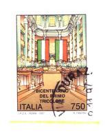 ITALIA REPUBBLICA 1997  Bicentenario Del Primo Tricolore   (Sass. N. 2258) Usato - 6. 1946-.. Republik
