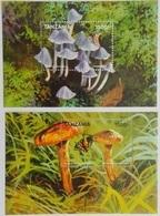 Tanzania 1998** Bl.414,415. Mushrooms MNH [10;65,94] - Pilze