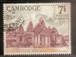 CAMBODGE OBLITERE - Cambodge