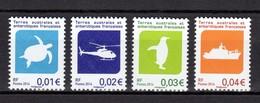 TAAF POSTE N° 705/708 NEUFS** SUPERBES - Französische Süd- Und Antarktisgebiete (TAAF)