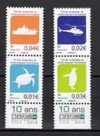 TAAF POSTE N° 784/787 NEUFS** SUPERBES - Französische Süd- Und Antarktisgebiete (TAAF)