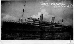 NAVE VIENNA-LLOYD TRIESTINO-SERVIZIO A.O.-FOTO - Barche