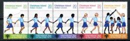 Christmas Island, 1979, International Year Of The Child, IYC, United Nations, MNH Strip, Michel 110-114 - Christmas Island