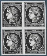 Cérès 170 Ans Du Premier Timbre Poste Français - Bloc De 4 Timbres  (2019) Neuf** - Unused Stamps