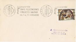 32015. Carta MADRID 1972. Rodillo Felicitaciones Y NAVIDAD - 1931-Hoy: 2ª República - ... Juan Carlos I
