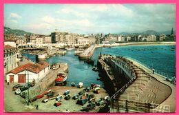 San Sebastian - El Puerto - Le Port - The Harbour - Barque - Animée - MANIPEL - Oblit. HENDAYE 1962 - Guipúzcoa (San Sebastián)
