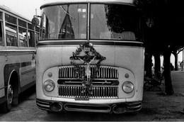 AUTOBUS-PELLEGRINAGGIO-CARTOLINA A TIRATURA LIMITATA - Autobus & Pullman
