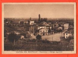 Giavera Del Montello Treviso Albergo Agnoletti Cpa Anni 40 - Treviso