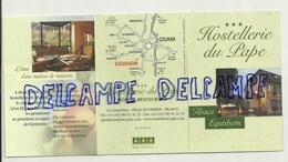 Publicité Pour L'Hostellerie Du Pape. Eguishem - Vieux Papiers