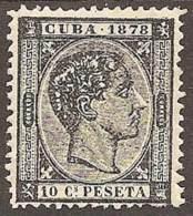 ESPAÑA/CUBA 1878 - Edifil #45 - MLH * - Cuba (1874-1898)